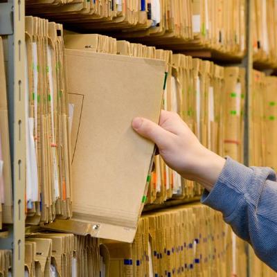 Bodegaje y almacenamiento de archivos