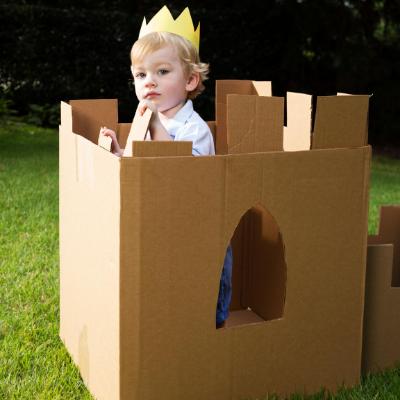 Jugando con las cajas de mudanza