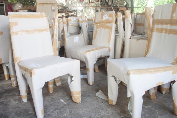 Embalaje de muebles y sillas