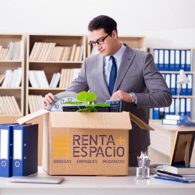 Espacio empresarial y almacenamiento