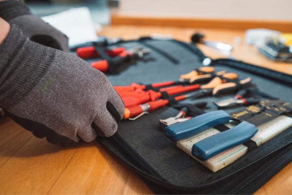 Almacenar herramientas
