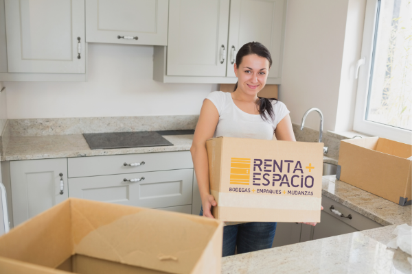 Servicio de bodegaje: Organizar cajas