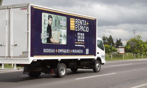 Mudanzas en Bogotá - Servicio Renta Espacio